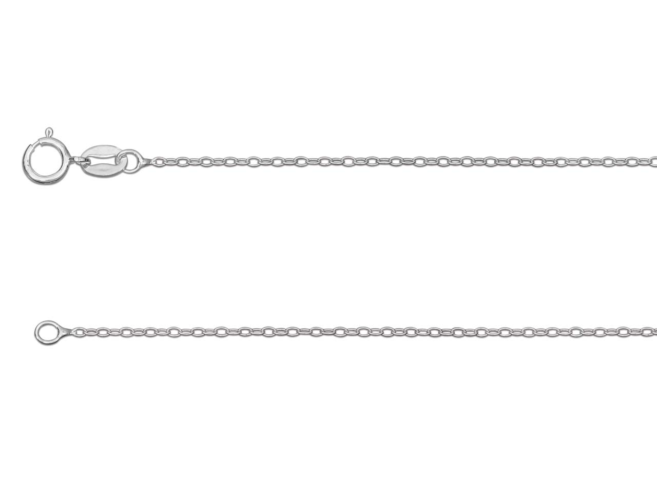 Silver sterling chain type Forçat_ultra_light