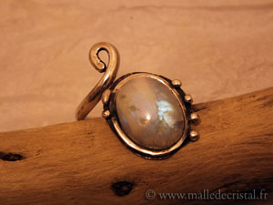 Rainbow Moonstone - unique designer jewelry