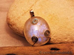 pendants elfes opale silver sterling 925
