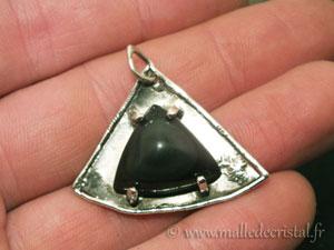 obsidian celeste silver jewelry