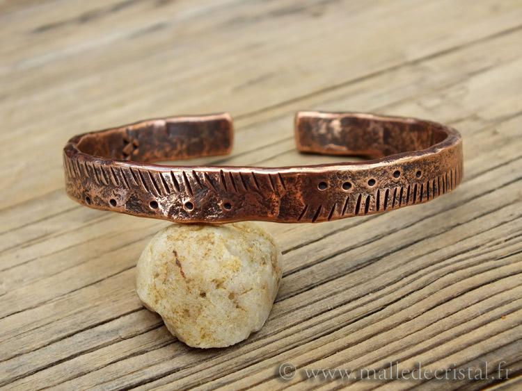 Bracelet de cuivre pour arthrose